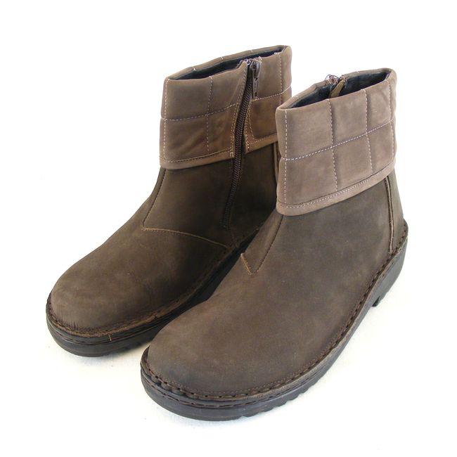 Naot Damen Schuhe Stiefeletten Leder Kristin braun Wechselfußbett 5386 – Bild 1