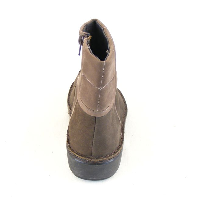 Naot Damen Schuhe Stiefeletten Leder Kristin braun Wechselfußbett 5386 – Bild 3
