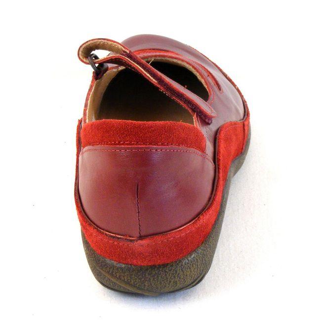 Naot Damen Schuhe Halbschuhe Leder Matai rot rumba 6053 Ballerina Wechselfußbett – Bild 3