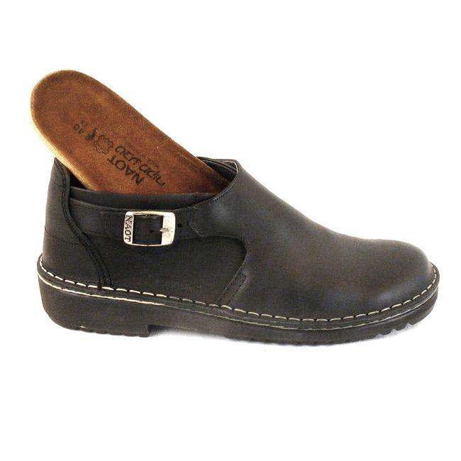 Naot Damen Schuhe Halbschuhe Leder Malta schwarz 6066 Wechselfußbett Lederfutter – Bild 6