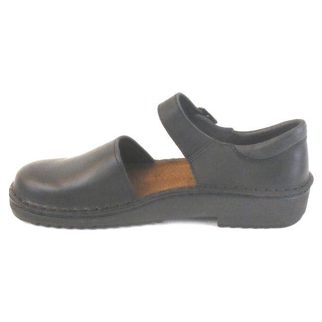 Naot Damen Schuhe Halbschuhe Olga Echt-Leder schwarz 6079 Wechselfußbett – Bild 2