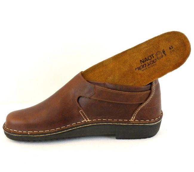 Naot Damen Schuhe Halbschuhe Leder Malta braun 7642 Wechselfußbett Schnalle – Bild 6