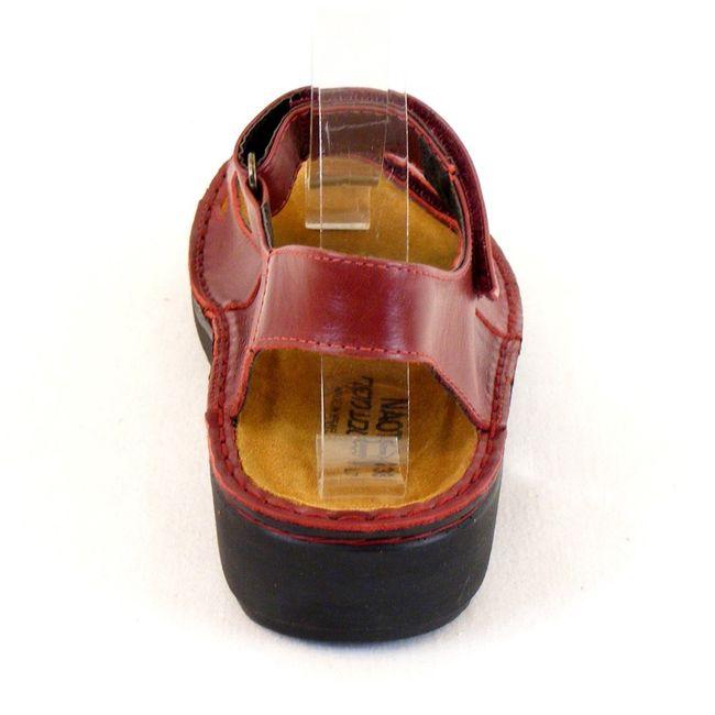 Naot Damen Schuhe Sandaletten Karenna Echt-Leder rot 7860 Wechselfußbett – Bild 3