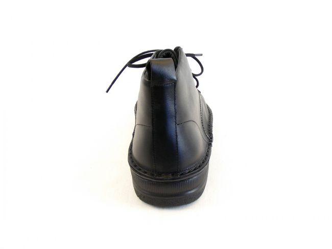 Naot Herren Schuhe Knöchelschnürschuhe Leder Arcadia schwarz Wechselfußbett 8645 – Bild 3