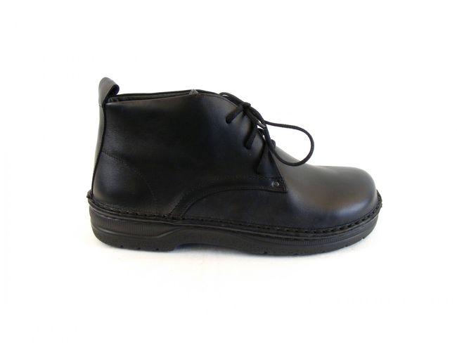 Naot Herren Schuhe Knöchelschnürschuhe Leder Arcadia schwarz Wechselfußbett 8645 – Bild 4