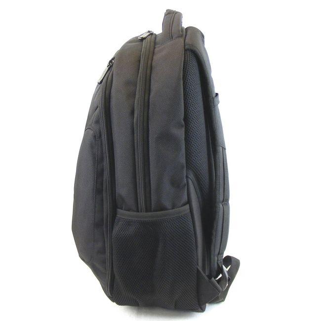 """Dermata Rucksack Businessrucksack mit Laptopfach 15,6"""" Nylon schwarz 9643 – Bild 2"""