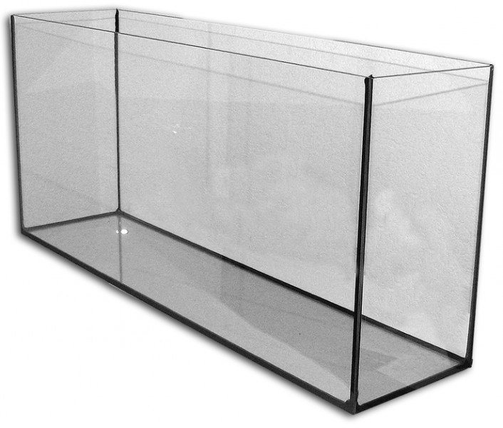 aquarium glas becken 80x20x40 cm 64 liter aquaristik welt aquarium einzelprodukte aquarium. Black Bedroom Furniture Sets. Home Design Ideas