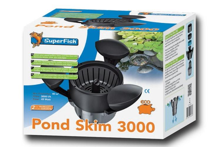 sf pond skim 3000 oberfl chenabsauger teich skimmer mit. Black Bedroom Furniture Sets. Home Design Ideas