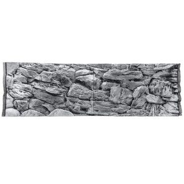 3d Aquarium Rückwand 160x60 cm S-Line grey Terrarium FIF – Bild 2