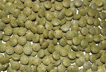 Futtertabletten Basis Boden Linse 10mm grün 1,5kg
