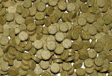 Futtertabletten Haft 10% Spirulina 10mm 250ml