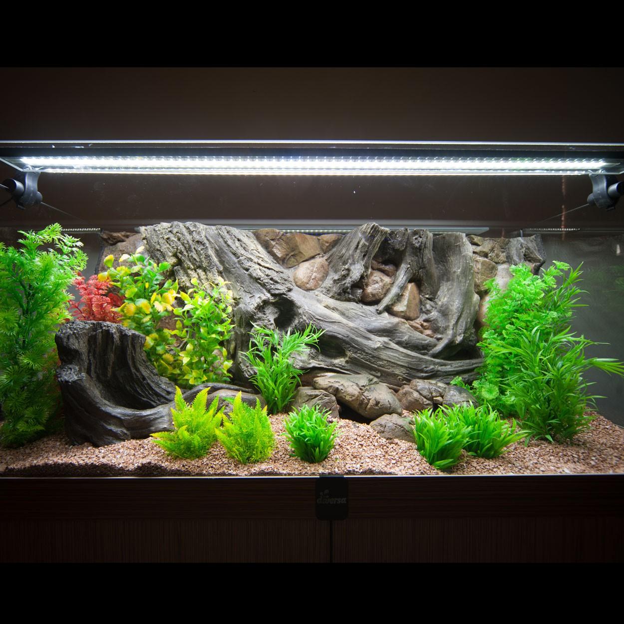Bekannt 3d Aquarium Rückwand für Rio 240 Luxus-Line FIF Aquaristik Welt 3d HP98