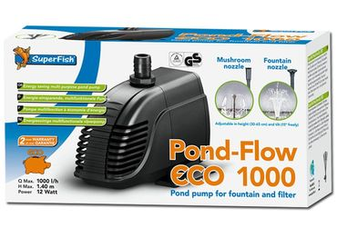 SF Pond Flow Eco 1000 Teichpumpe 1000 l/h 12W