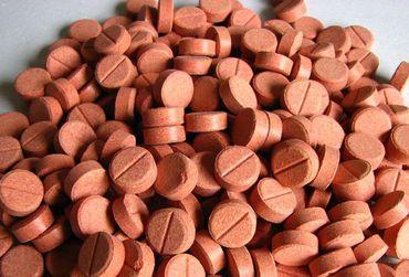 Futtertabletten Haft Tablette Rille 11mm rot 250ml