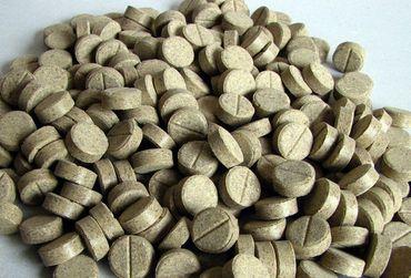 Futtertabletten 20% Holz Rille Haft 11mm 1kg