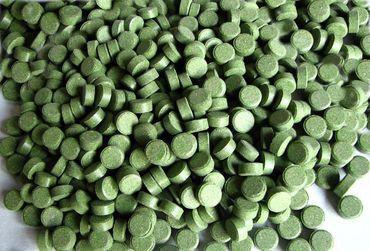 Futtertabletten Boden 9mm grün 10% Spirulina 1,5kg