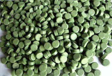 Futtertabletten Boden 9mm grün 10% Spirulina 2kg