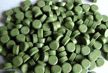 Futtertabletten Haft 12mm grün 10% Spirulina 2kg