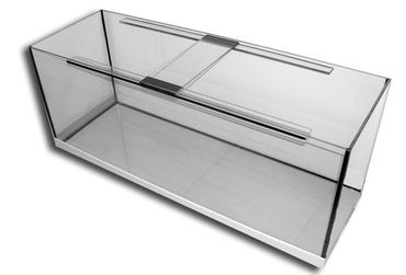 Aquarium Glas Becken 120x55x55 cm 10 mm Glas