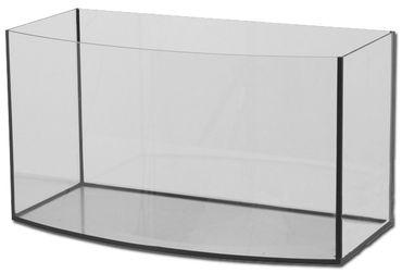 Aquarium Glas Becken 100x40x50 cm gewölbt 180 Liter