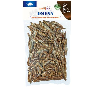 Omena Snack Training Trockenfisch DOG Hund Leckerli