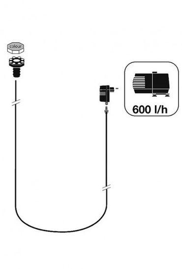 Ubbink Wasserfall Eimer Mini LED ID 136 – Bild 2