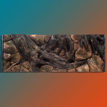3d Aquarium Rückwand 160x60 cm Luxus-Line Terrarium FIF – Bild 1