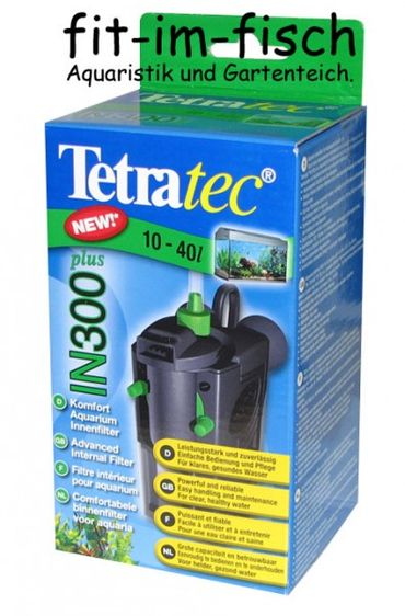 Tetra Tec Innenfilter IN300 Plus 10-40L Aquarium