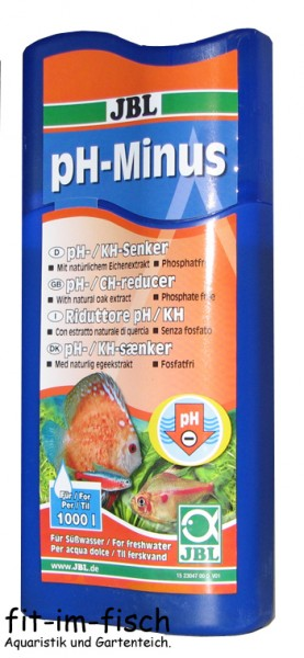 JBL pH-Minus 250 ml pH-/KH-Senker