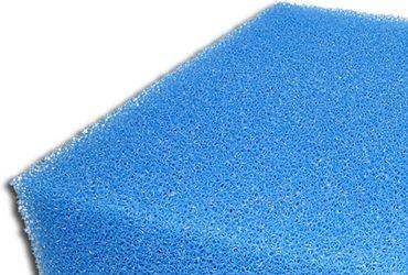 Filtermatte 50x50x10 cm grob blau PPI10 Filterschaum Filterschwamm