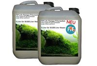 Wasseraufbereiter Flüssiges Filtermedium FIF-LIFE 2x 5L