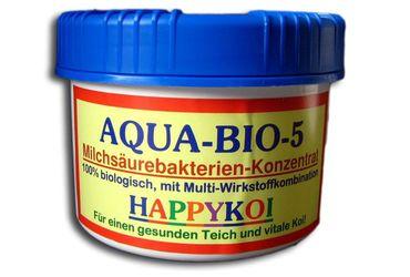 Aqua BIO 5 Milchsäurebakterien 500 ml für 75.000 Liter + GRATIS