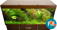 Exclusive Aquarium Abdeckung 120x40 cm 2x39 Watt T5 001