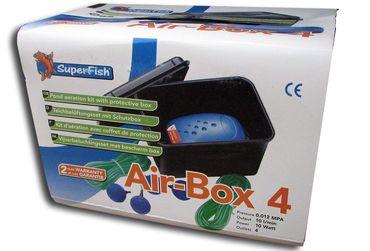 Teich Air Box 4 Teichbelüfter 10 L/min