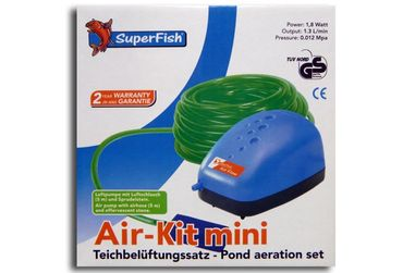 SF Belüftungsset Teich Aquarium Air Kit mini