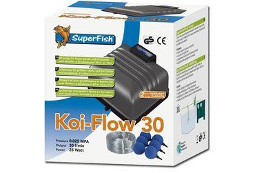 SF Koi-Flow 30 XL Belüfter Teichluftpumpe 1800 L/h 25 W