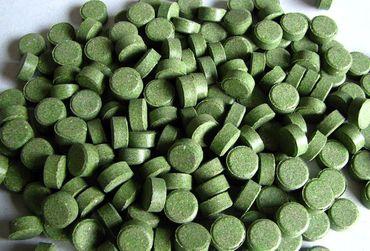 Futtertabletten Haft 12mm grün 10% Spirulina 500ml