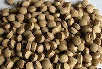 Futtertabletten Boden Linse 8mm hellbraun 1kg