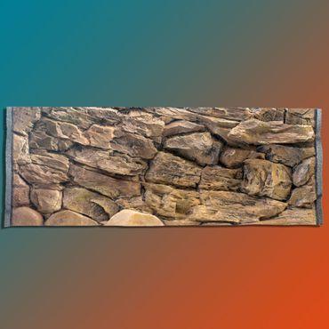 Aquarium Rückwand FIF 3d 130x50 cm S-Line Zweiteilig – Bild 1