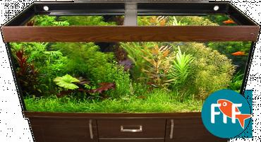 Exclusive Aquarium Abdeckung 120x50 cm 2x39 Watt T5 – Bild 1