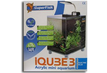 SF iQube3 electric blue LED Panorama 8 Liter