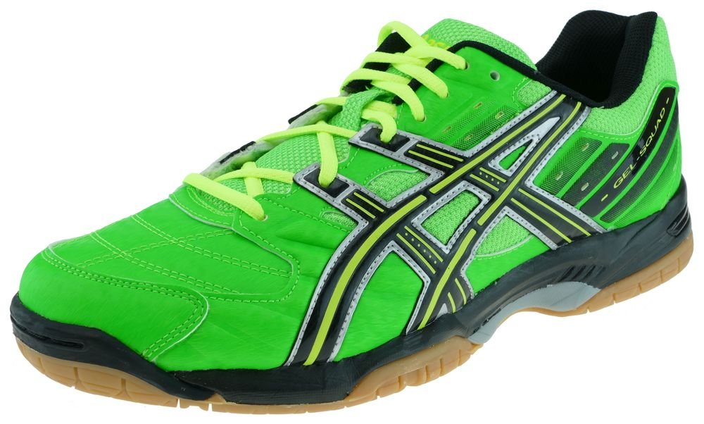 Asics GELSQUAD neon green black flash yellow Sportschuhe