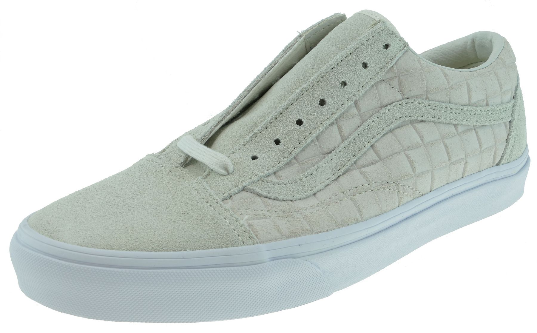 Vans OLD SKOOL  Classics suede checkers white