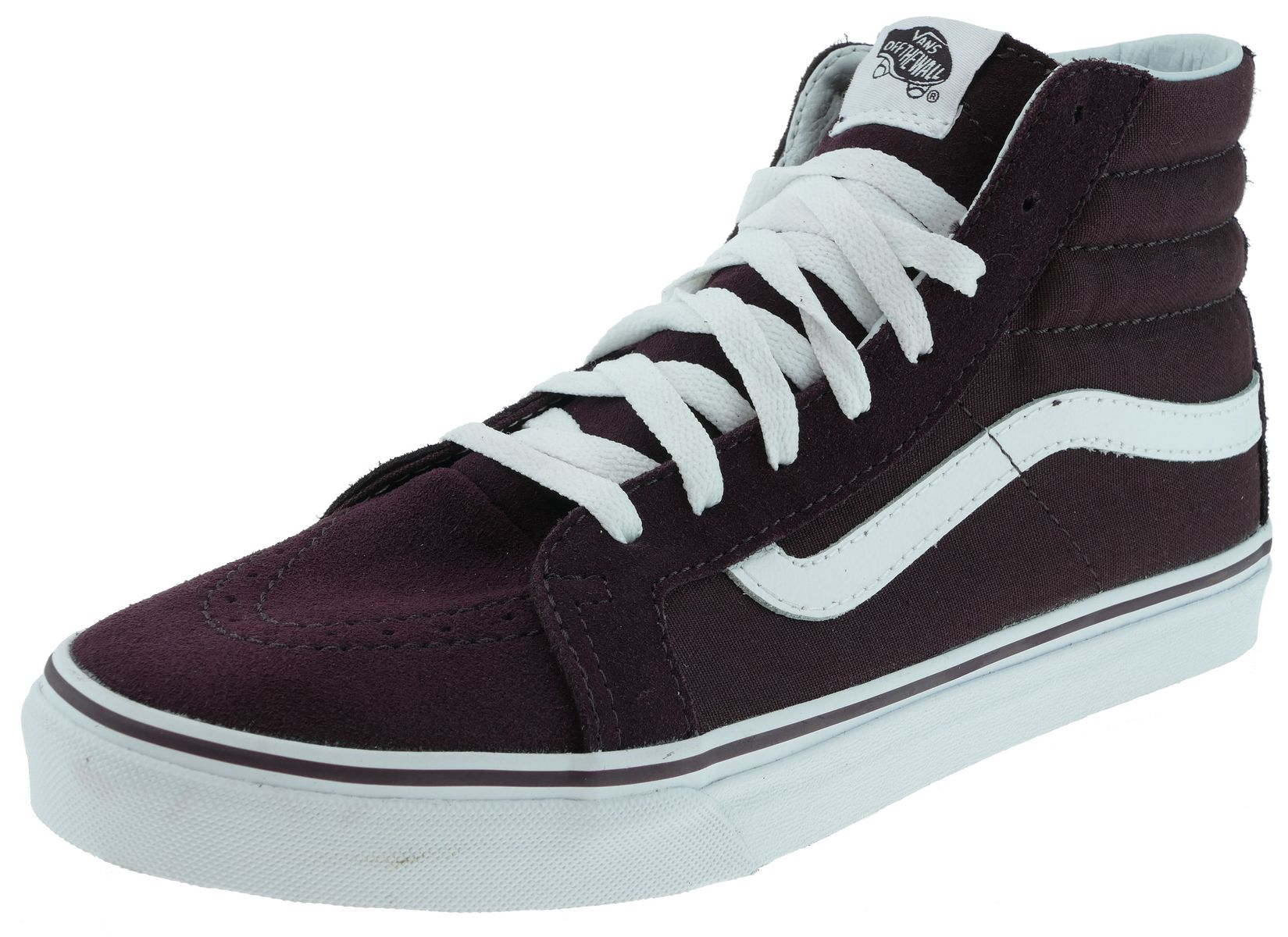 5d4a4b9c4d Vans SK8-HI SLIM Classics iron brown true white