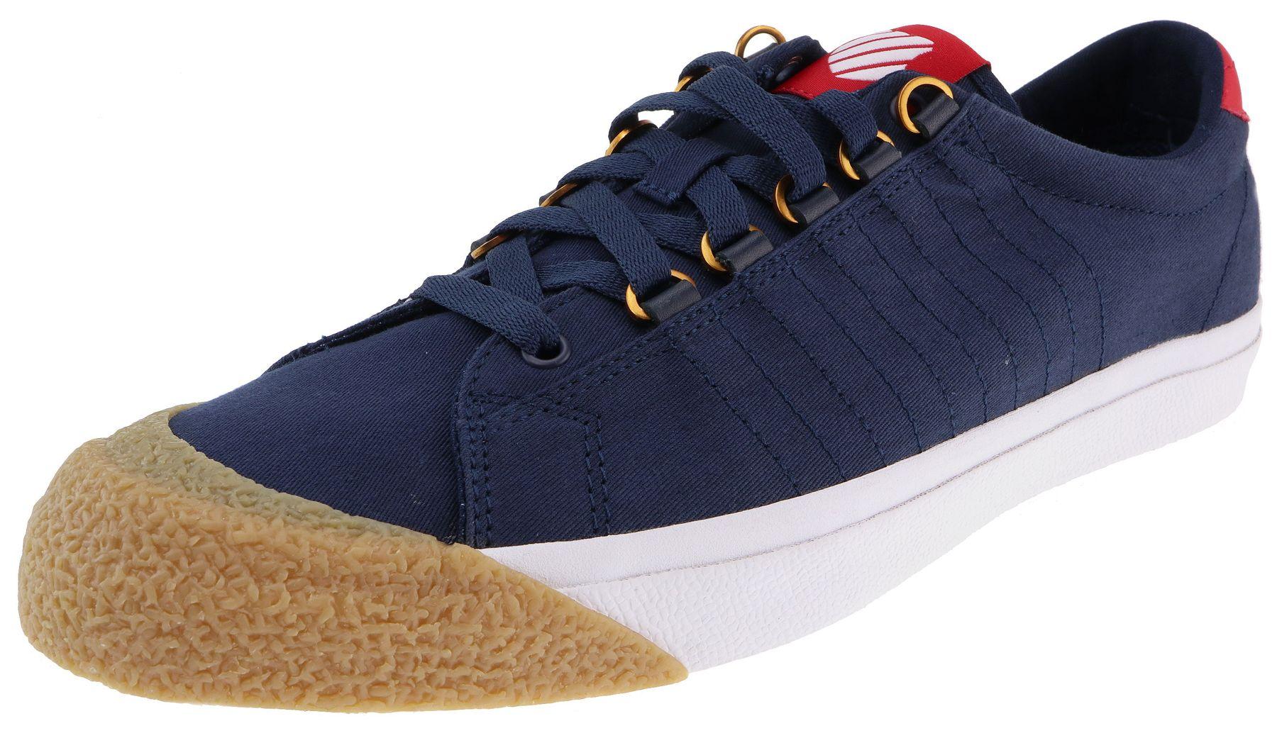 K-Swiss  Irvine T dress blues rbn red dark gum Herren_Sneaker