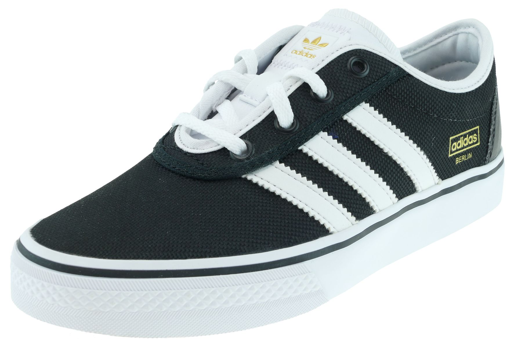 Adidas originals Adi Ease c black ftw white gold mt | | schuhe524 GmbH