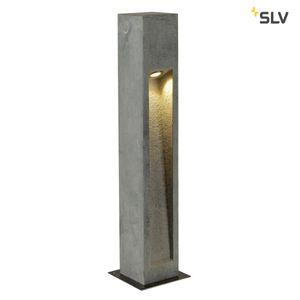 Außen LED Stehleuchte ARROCK STONE 75 cm, eckig