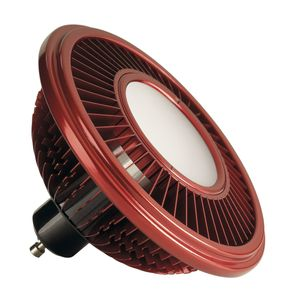 LED ES111 Leuchtmittel, rot, 17W, 140°, 2700K, dimmbar