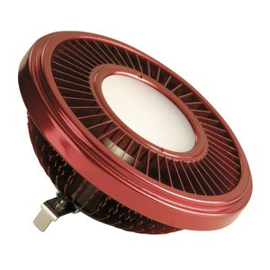 LED QRB111 Leuchtmittel, rot, 19,5W, 140°, 2700K, dimmbar