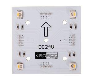 Modular Panel II 2x2 RGB + 3000K, 5050, SMD, RGB + Warmweiß, 24V DC, 1,80 W